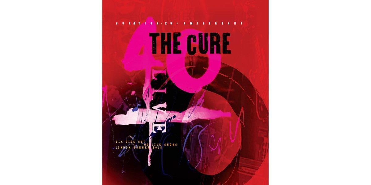 """""""40 LIVE - CURÆTION-25 + ANNIVERSARY"""" The Cure w sprzedaży od października"""
