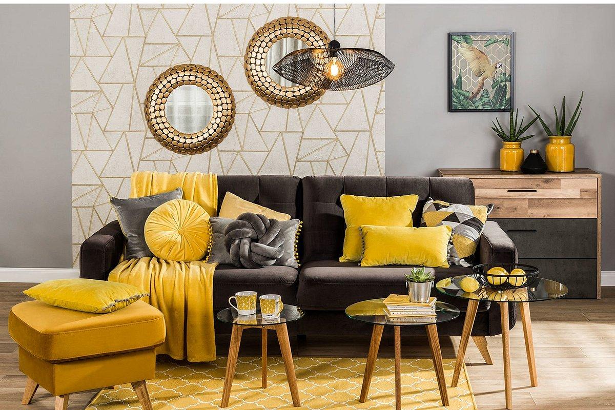 Żółte i pomarańczowe akcenty – wykorzystaj ten trend w aranżacji wnętrz