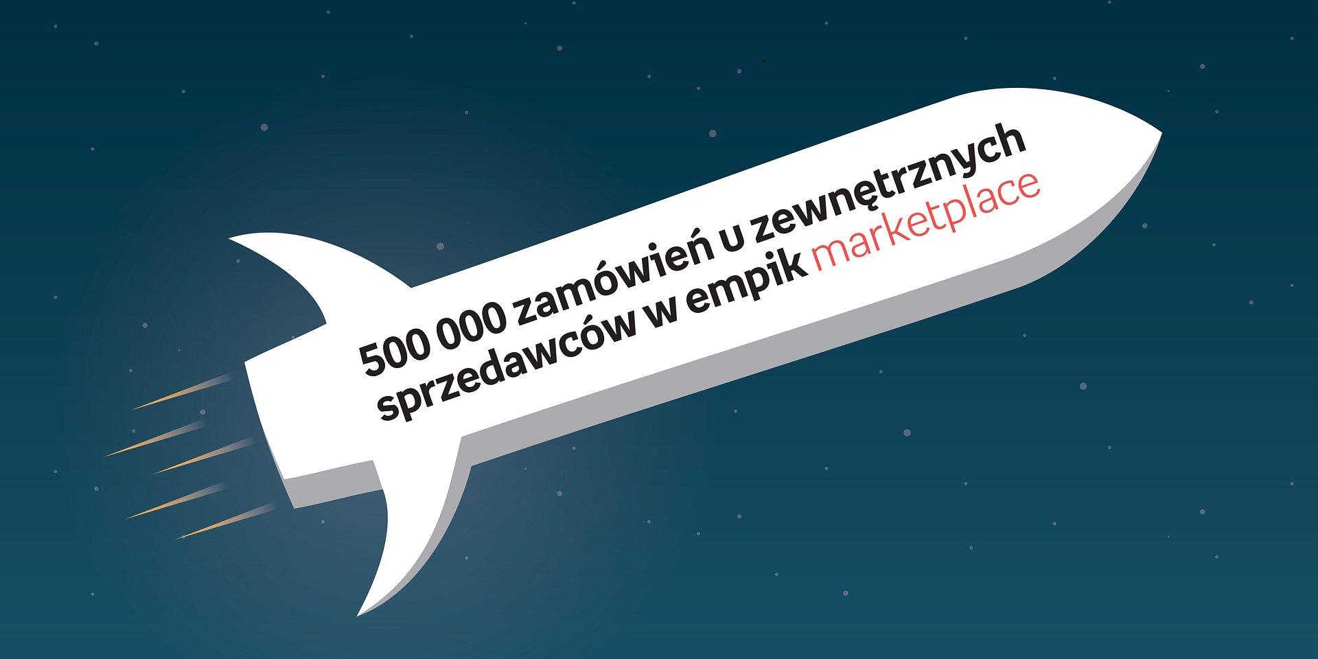 500 tysięcy zamówień od zewnętrznych sprzedawców na platformie Empik.com