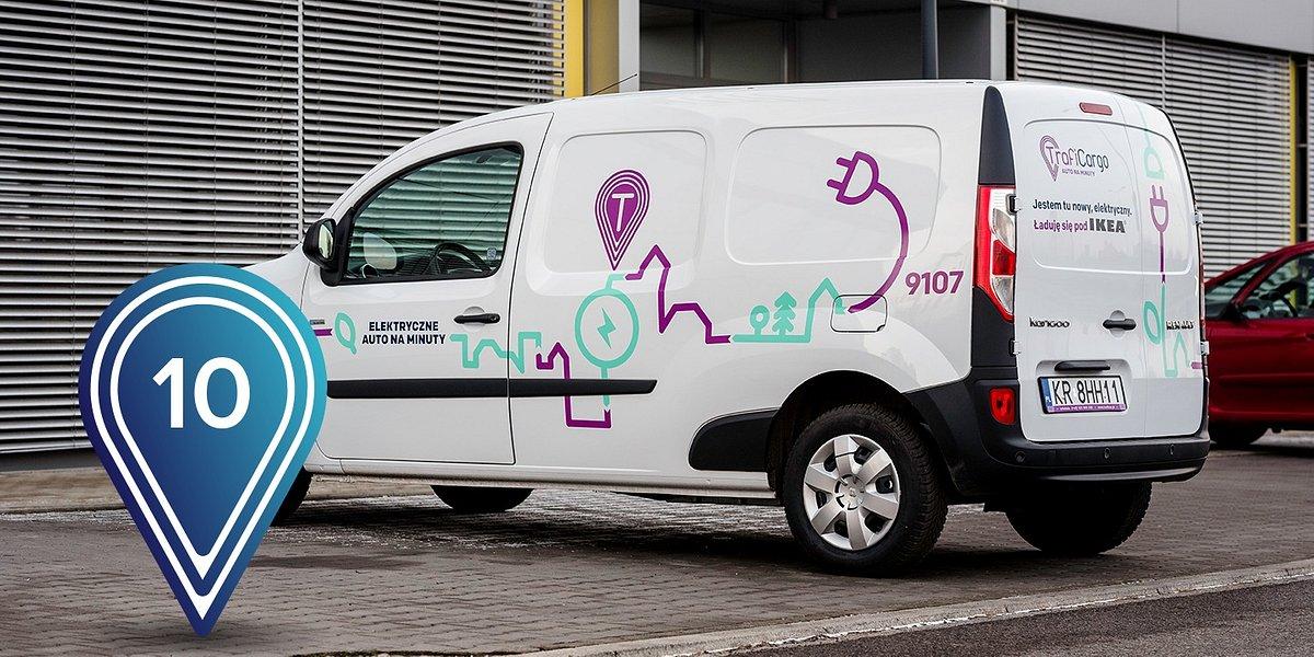 Traficar zwiększył liczbę dostawczych aut elektrycznych
