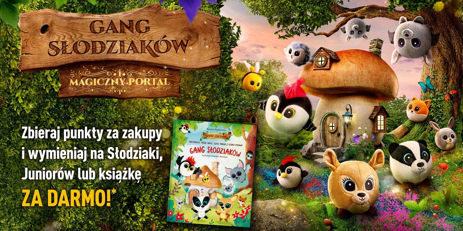 Gang Słodziaków z magicznej polany prosto do Biedronki
