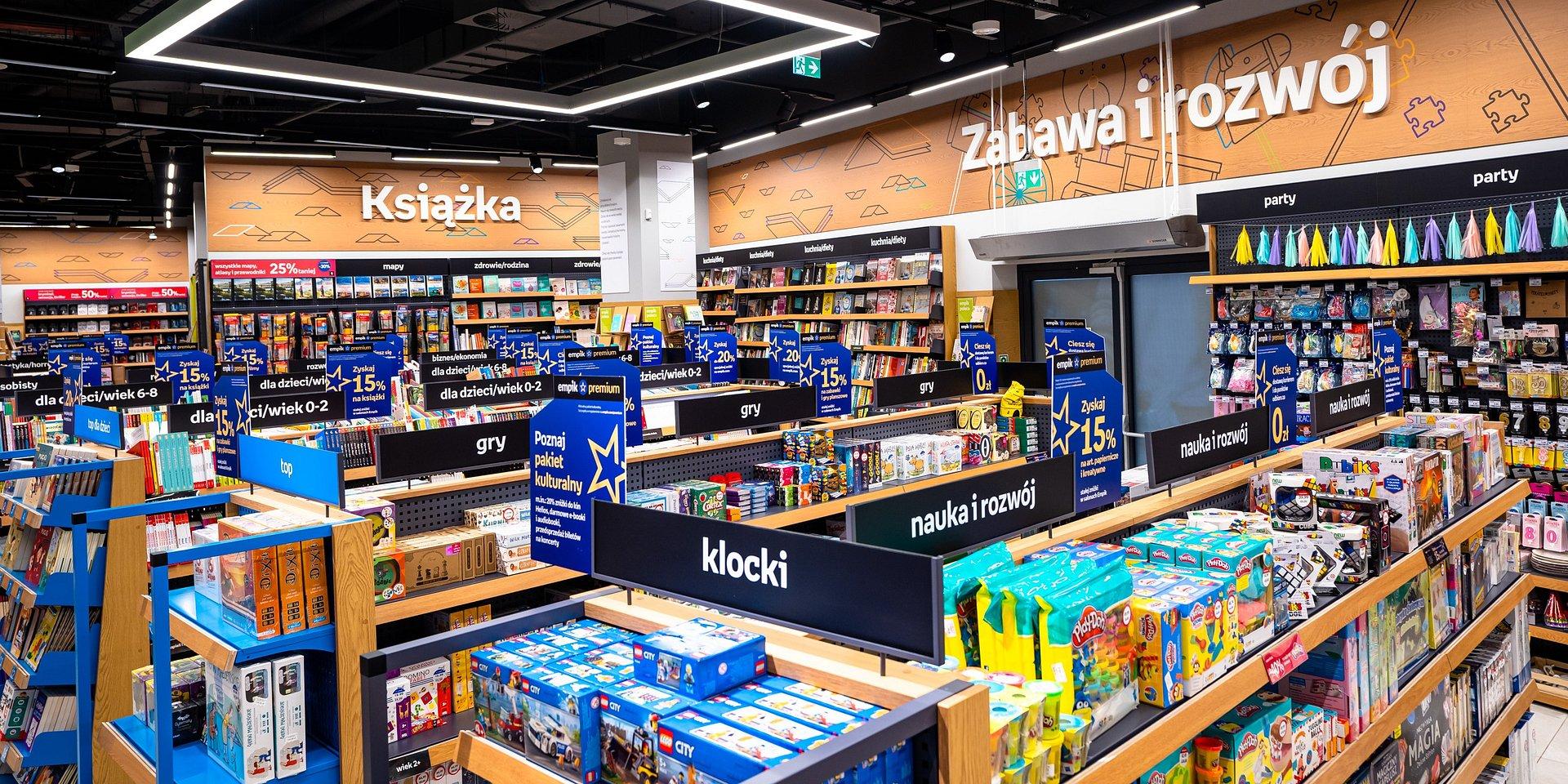 Empik w Galerii Rzeszów – pierwszy Future Store w regionie