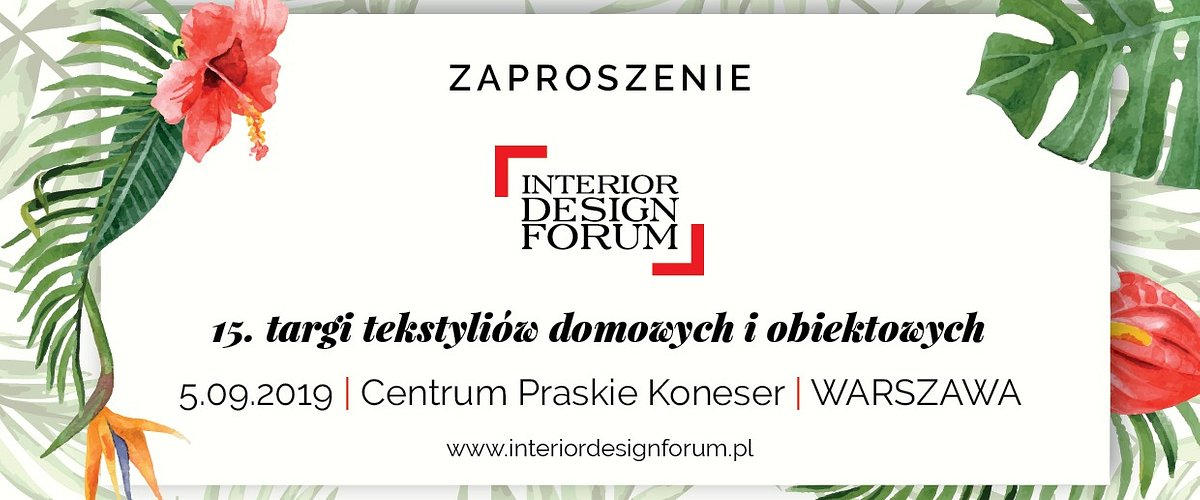 15. Interior Design Forum z patronatem Homebook.pl