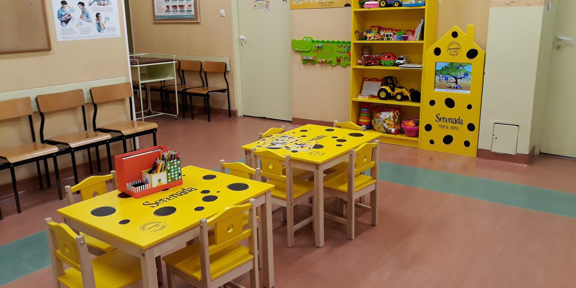 Powstały kolejne kąciki zabaw dla dzieci