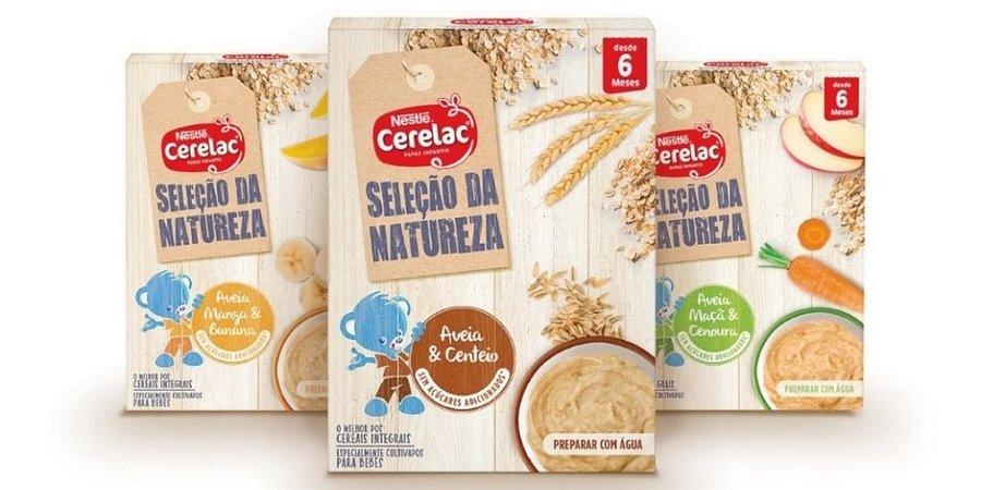 CERELAC lança nova papa infantil sem açúcares adicionados