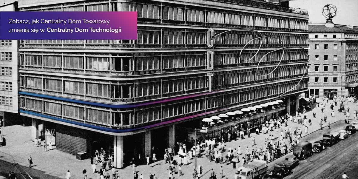 Centralny Dom Technologii już otwarty