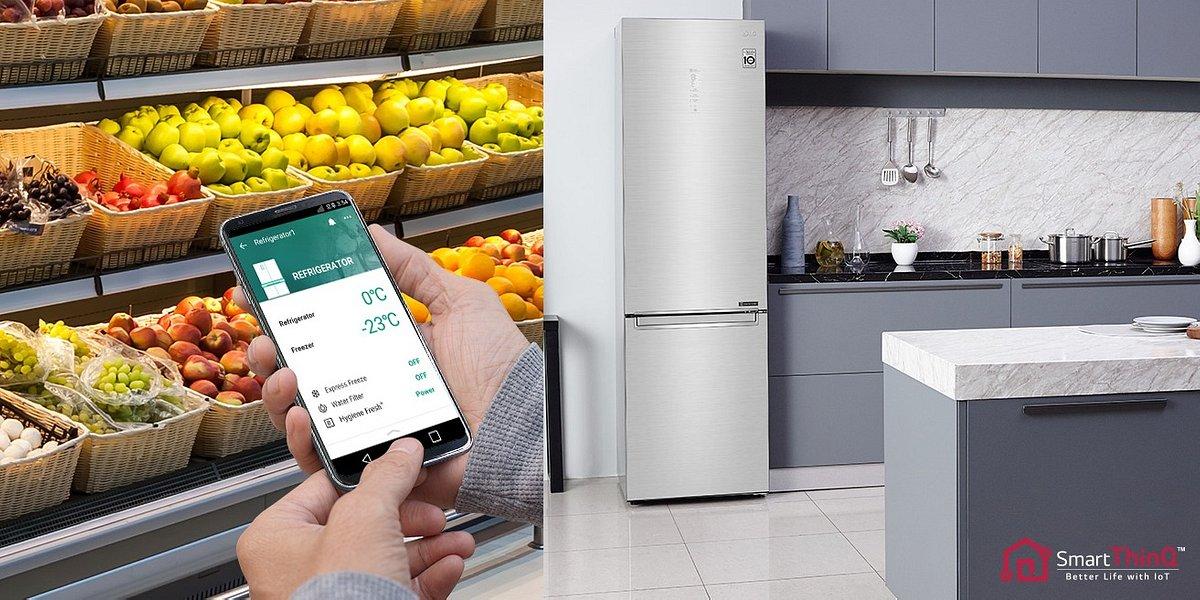 Innowacje, które pozwalają być eko-friendly: poznaj najnowszą linię lodówek V+ od LG