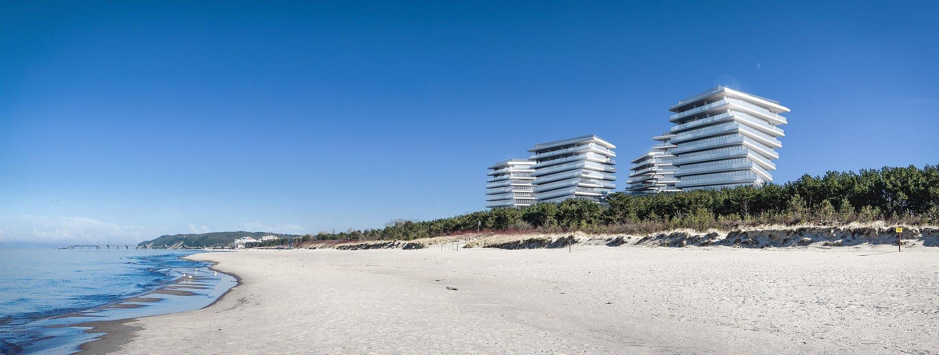 Na fali designu – pięć przeszklonych apartamentowców z widokiem na Bałtyk