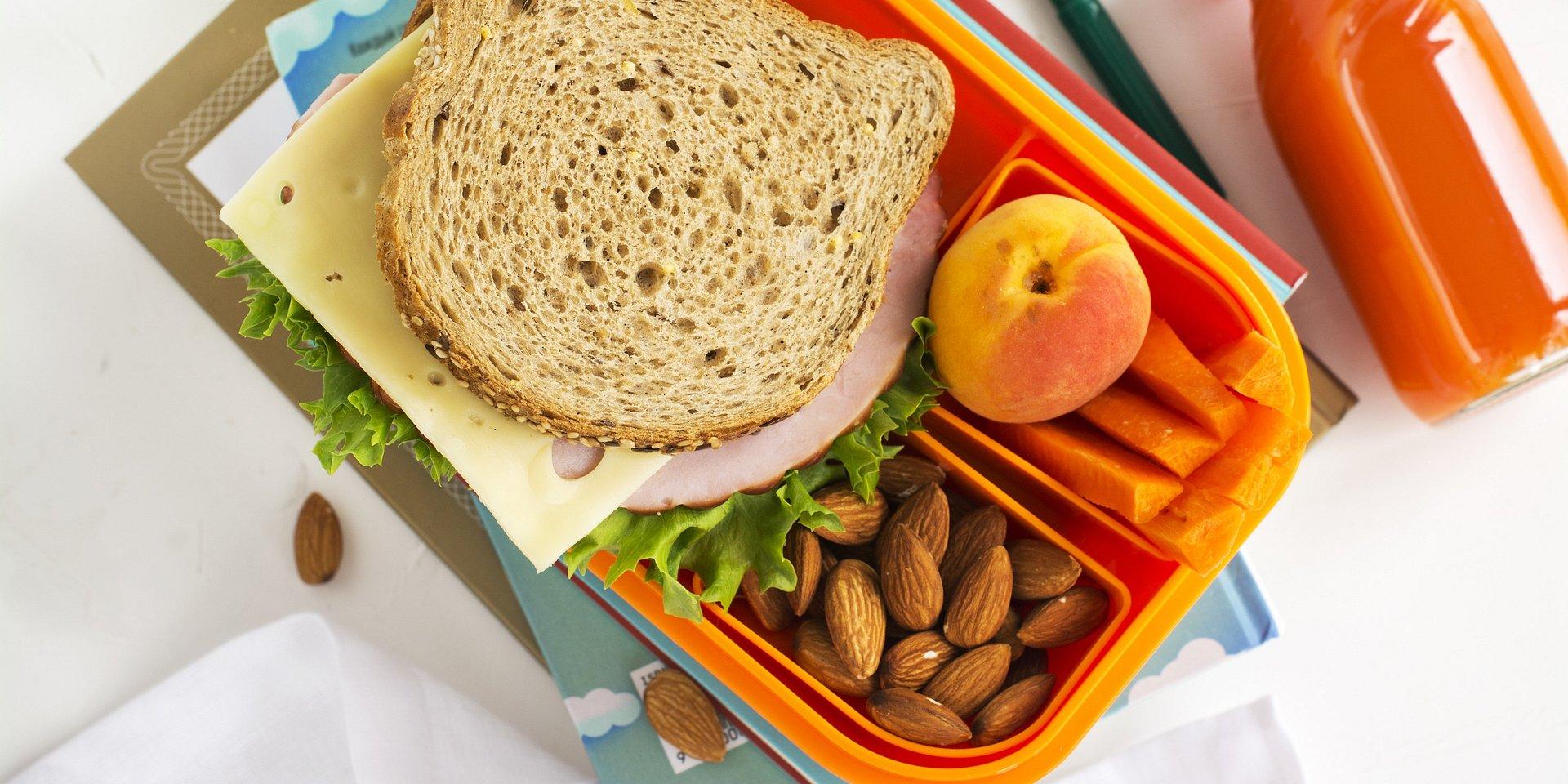 Lunchbox malucha na 5 z plusem!