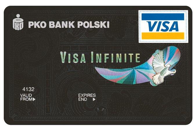Karta PKO Visa Infinite