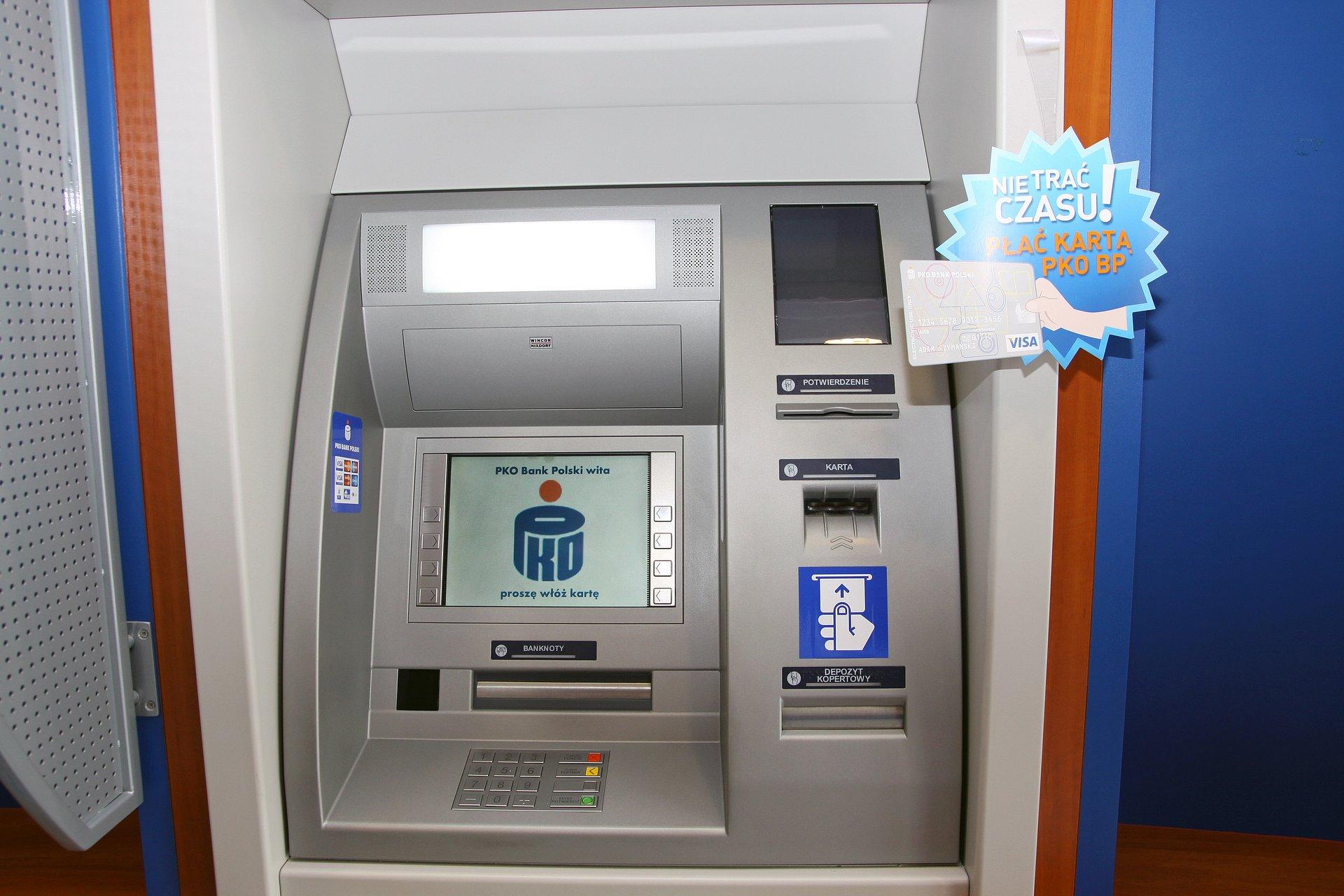 3,5 tys. bezprowizyjnych bankomatów dla klientów PKO Banku Polskiego