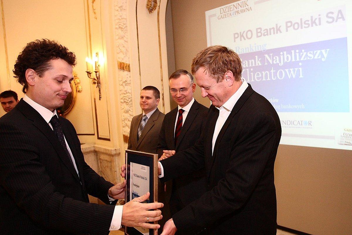 PKO Bank Polski i Inteligo wyróżnione przez Dziennik Gazetę Prawną