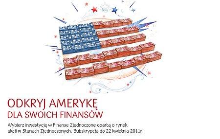 Inwestycja w rynek amerykańskich akcji w PKO Banku Polskim