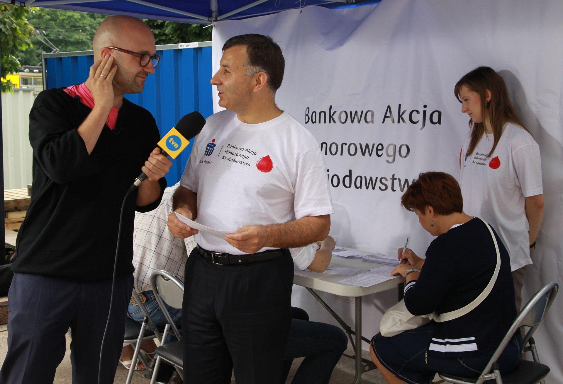PKO Bank Polski organizatorem ogólnopolskiej Bankowej Akcji Honorowego Krwiodawstwa