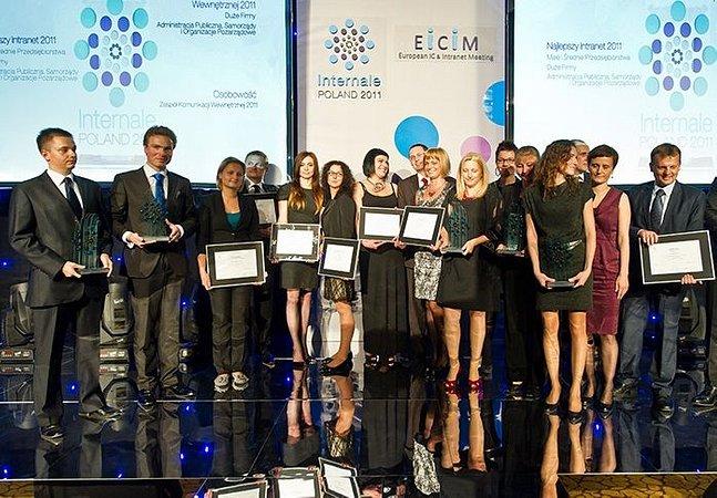 Nagroda specjalna Intranety.pl w konkursie Internale Poland 2011 za największą innowację w intranetach dla PKO Banku Polskiego