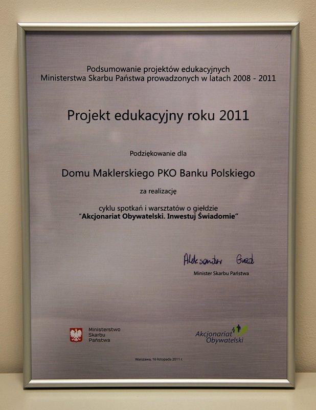 Zmiany w Domu Maklerskim PKO Banku Polskiego
