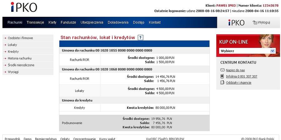 iPKO i Inteligo: zarządzaj emeryturą ze swojego konta