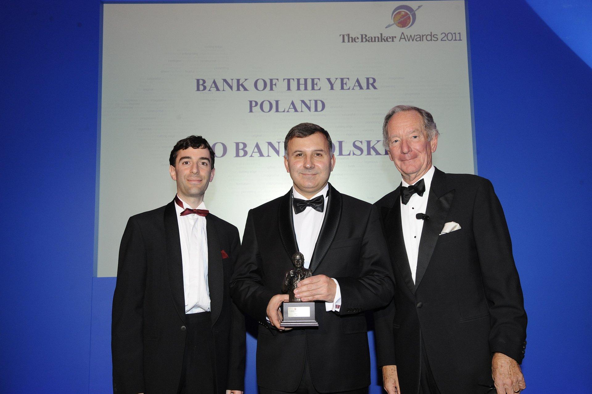 Bank roku w Polsce według miesięcznika The Banker
