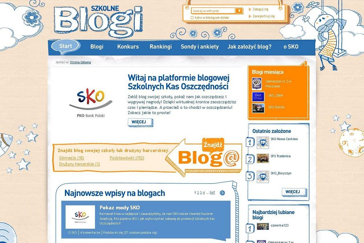 SzkolneBlogi.pl już od roku w Sieci