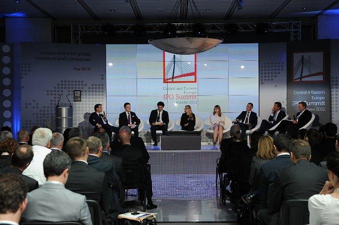 PKO Bank Polski na konferencji CEE IPO Summit 2012
