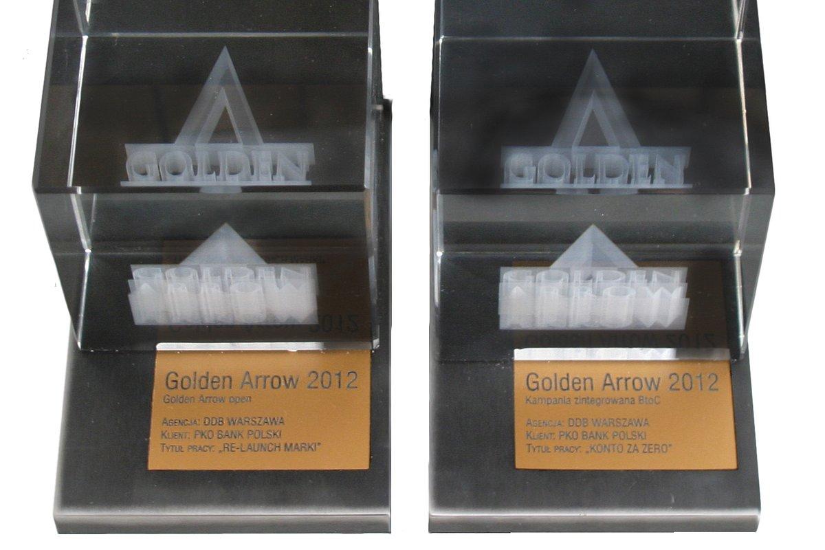 Dwie złote strzały dla kampanii marketingowej PKO Banku Polskiego