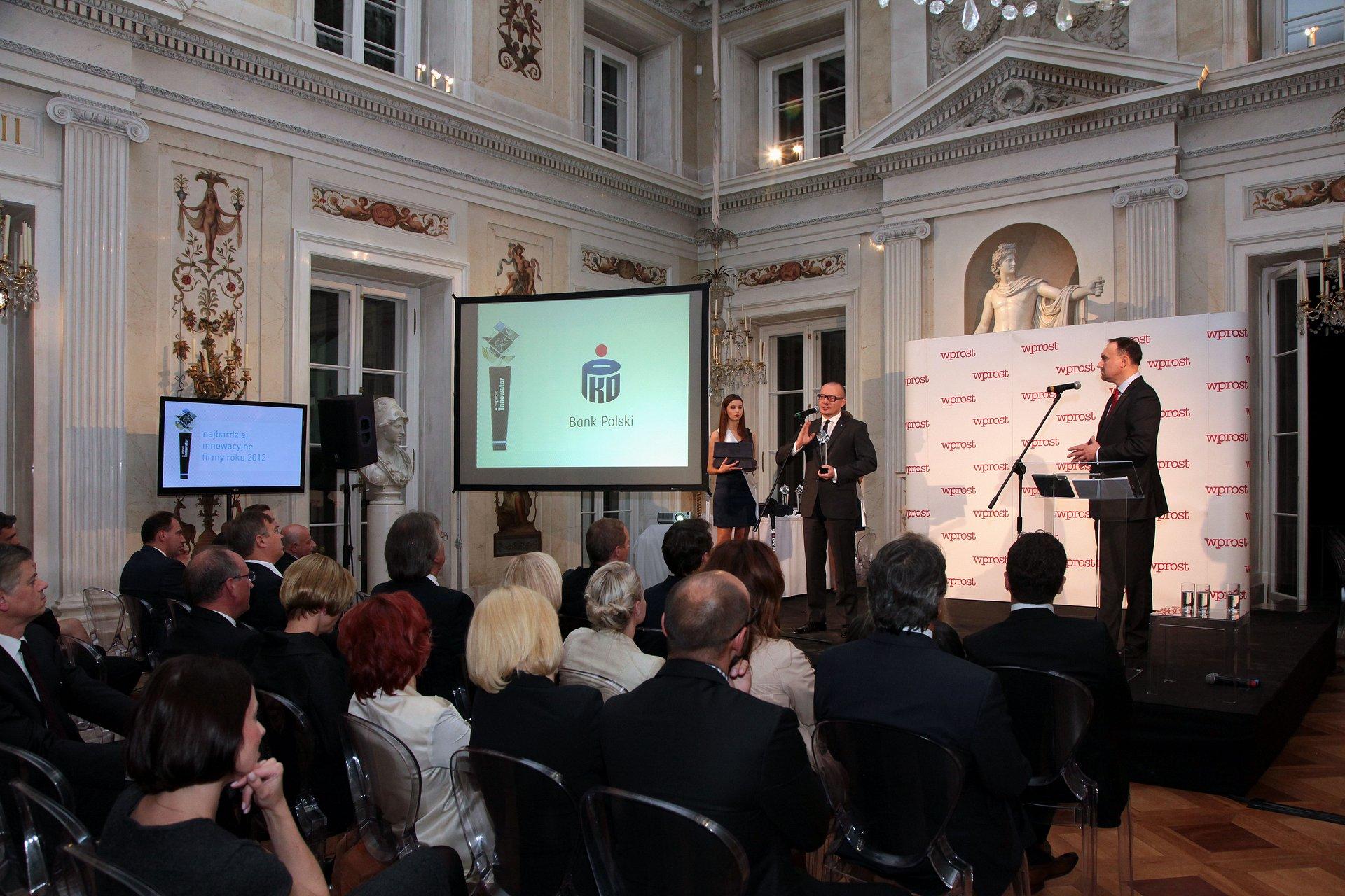 """PKO Bank Polski nagrodzony tytułem """"Innowator 2012"""""""