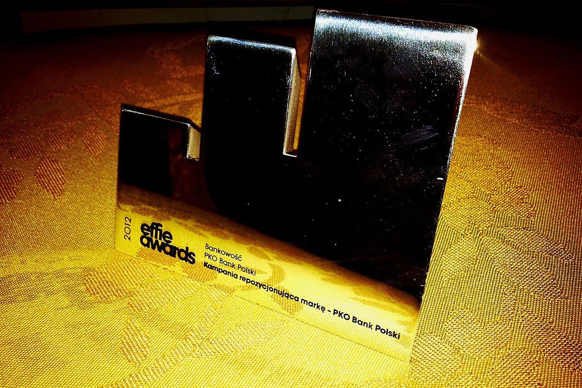 Srebrne Effie 2012 dla kampanii repozycjonującej markę PKO Banku Polskiego