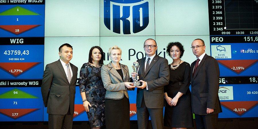 Nagroda za najlepszy Raport Roczny dla PKO Banku Polskiego