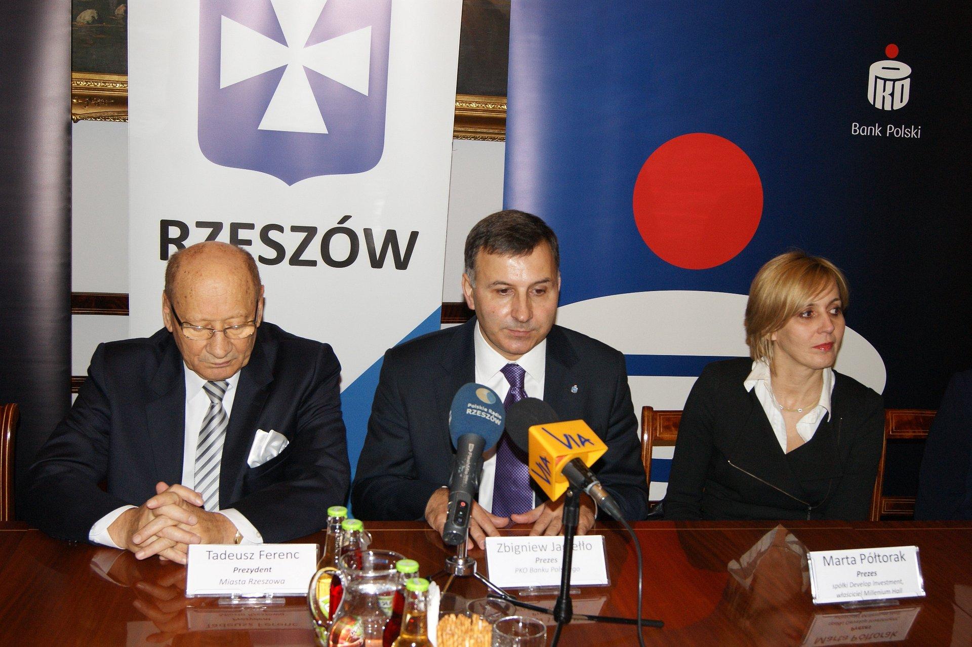 PKO Bank Polski partnerem lokalnych inwestycji w Rzeszowie