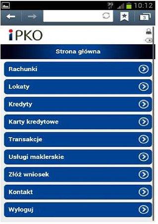 Mobilne iPKO i Inteligo dla inwestorów giełdowych