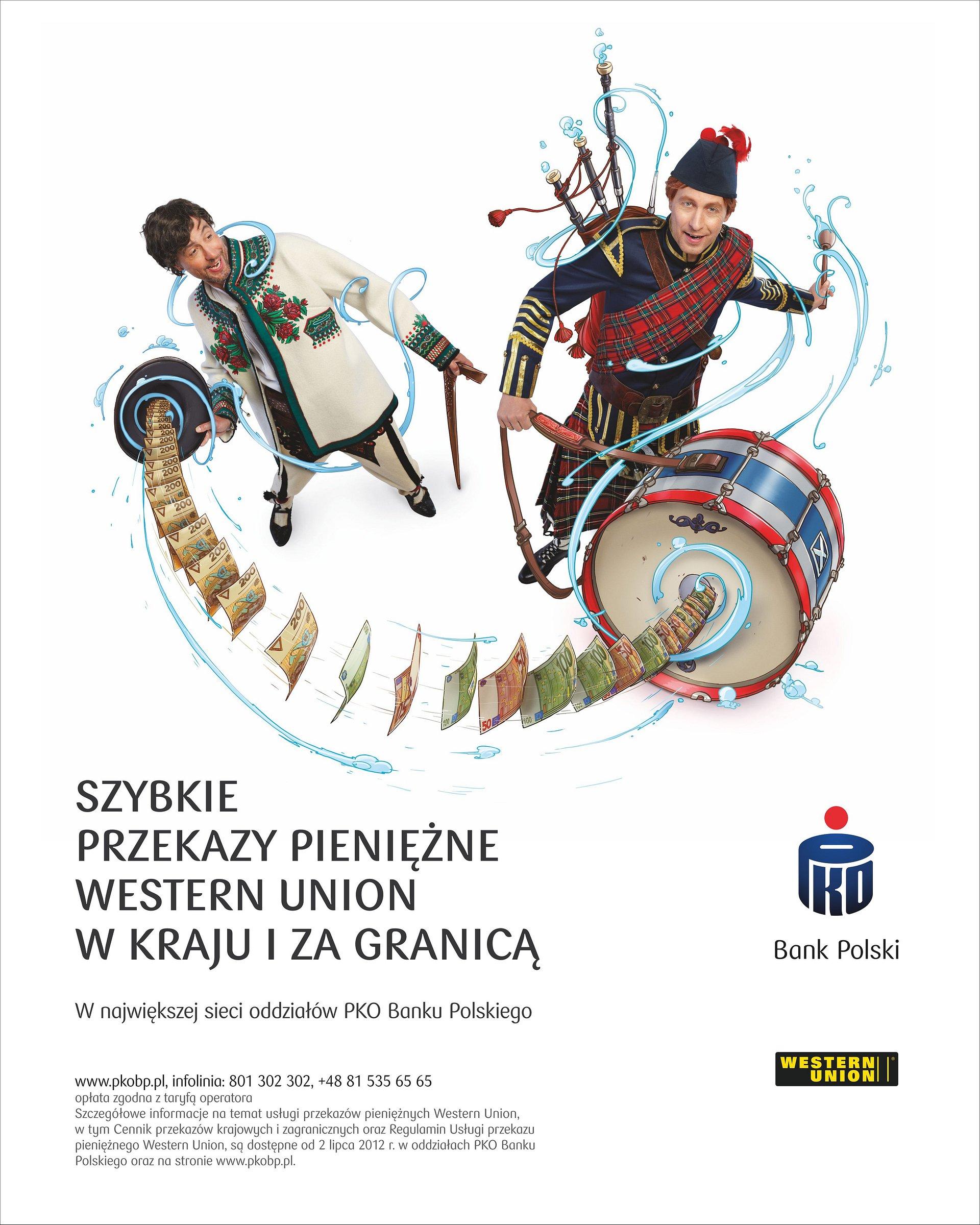 PKO Bank Polski i Western Union wprowadzają na rynek usługę przekazów pieniężnych, realizowanych w bankowości internetowej