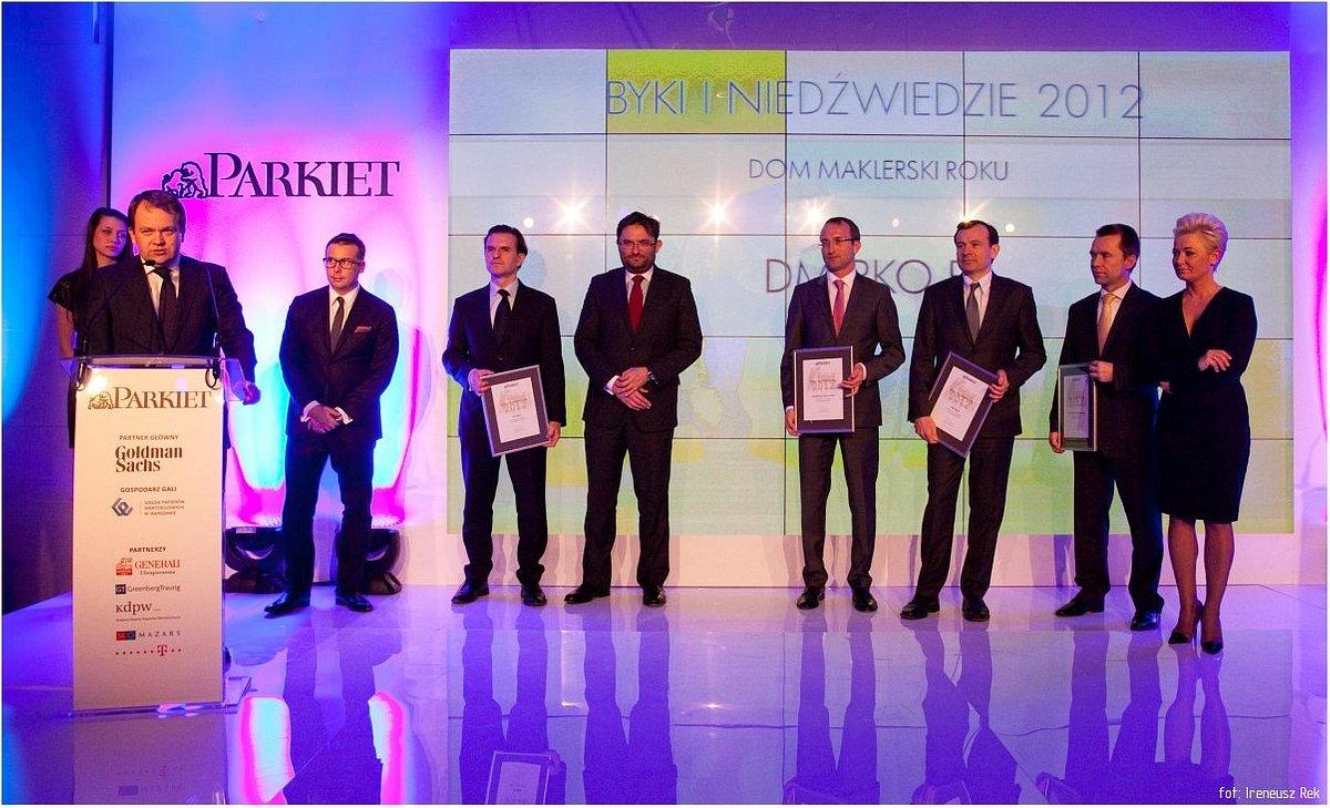 DM PKO Banku Polskiego - Domem Maklerskim Roku według Gazety Giełdy Parkiet