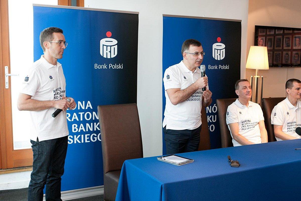 7 biegów na 7 kontynentach  - Korona Maratonów PKO Banku Polskiego