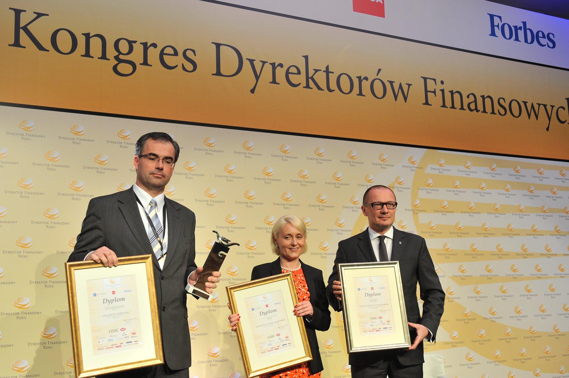 Wiceprezes Zarządu PKO Banku Polskiego nagrodzony w konkursie Dyrektor Finansowy Roku