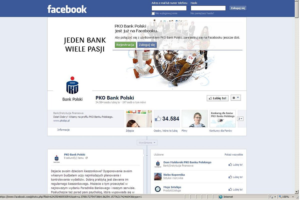 PKO Bank Polski doceniony przez Internautów za jakość obsługi