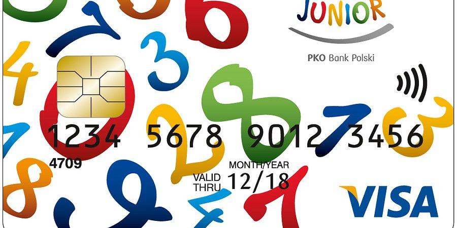Karty płatnicze PKO Junior dla dzieci poniżej 13. roku życia