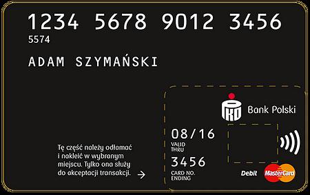 Breloki i naklejki płatnicze w PKO Banku Polskim