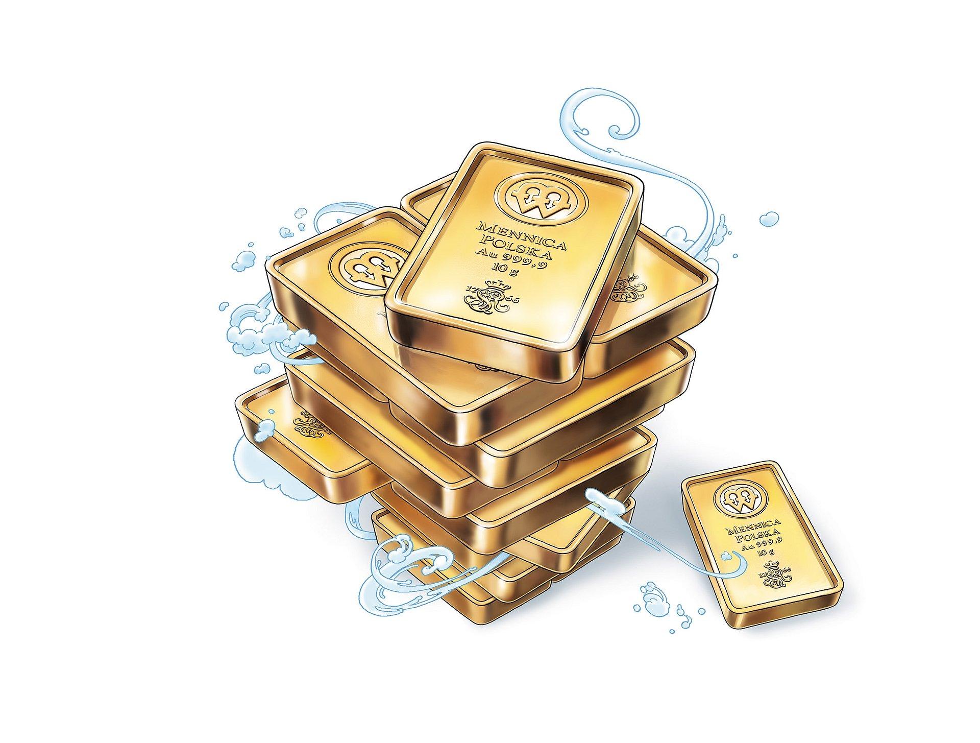 Sprzedaż sztabek złota w oddziałach PKO Banku Polskiego