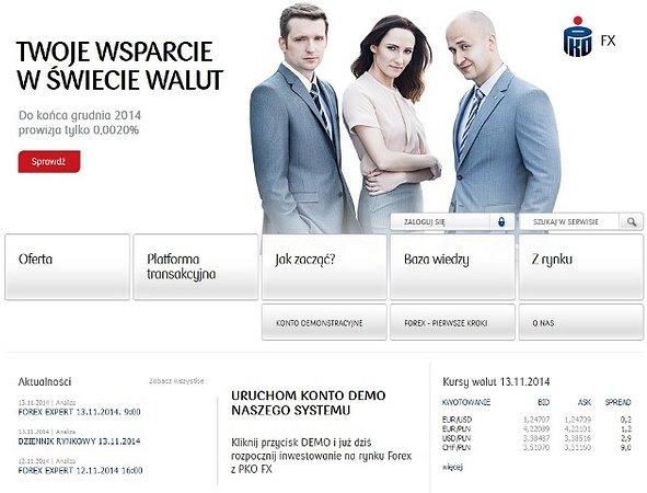 Transakcje na rynku walutowym - nowość w ofercie Domu Maklerskiego PKO Banku Polskiego
