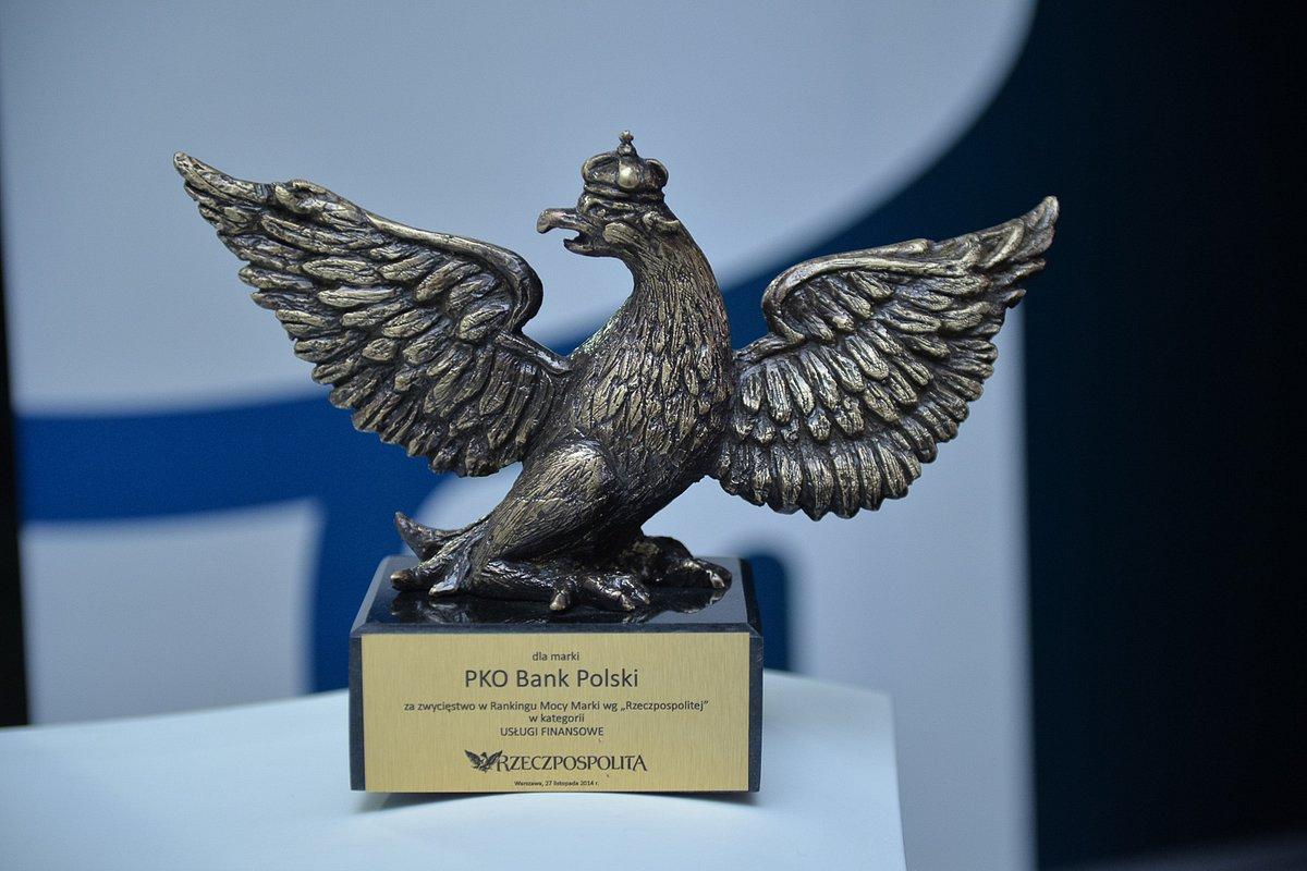 PKO Bank Polski najcenniejszą marką finansową według rankingu Rzeczpospolitej