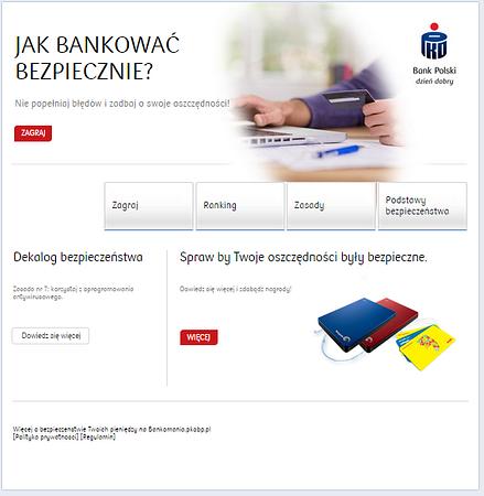 """""""Bankuj bezpiecznie"""" z PKO Bankiem Polskim"""