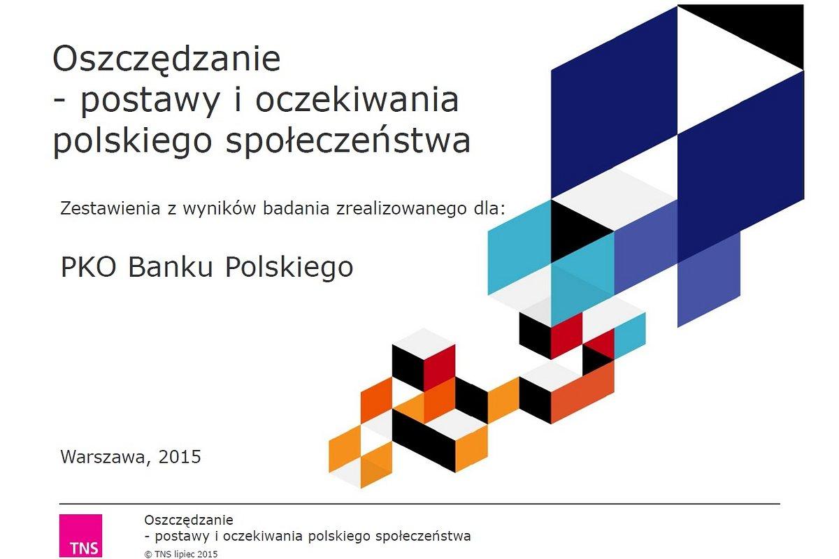 """""""Stać nas na oszczędzanie"""" – podsumowanie badań PKO Banku Polskiego"""