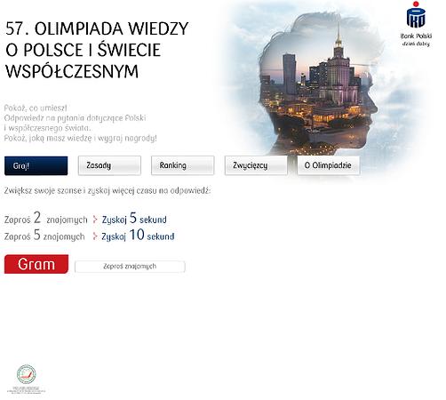 Przygotuj się na Facebooku do Olimpiady WPiŚW z PKO Bankiem Polskim