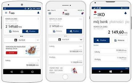 Nowe IKO - moc mobilnej bankowości