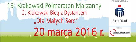 13. Krakowski Półmaraton Marzanny - powitanie wiosny z PKO Bankiem Polskim