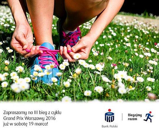 Powitanie wiosny na biegowo z PKO Bankiem Polskim