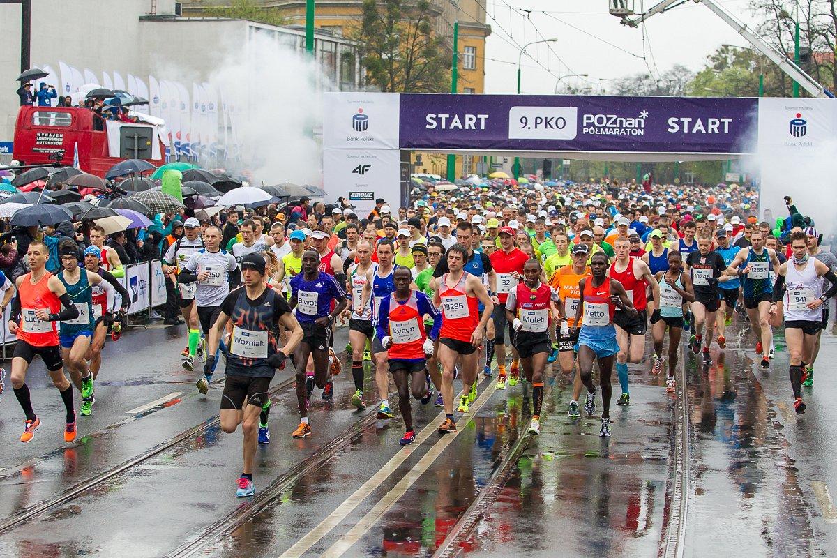 9. PKO Poznań Półmaraton z rekordową liczbą zawodników