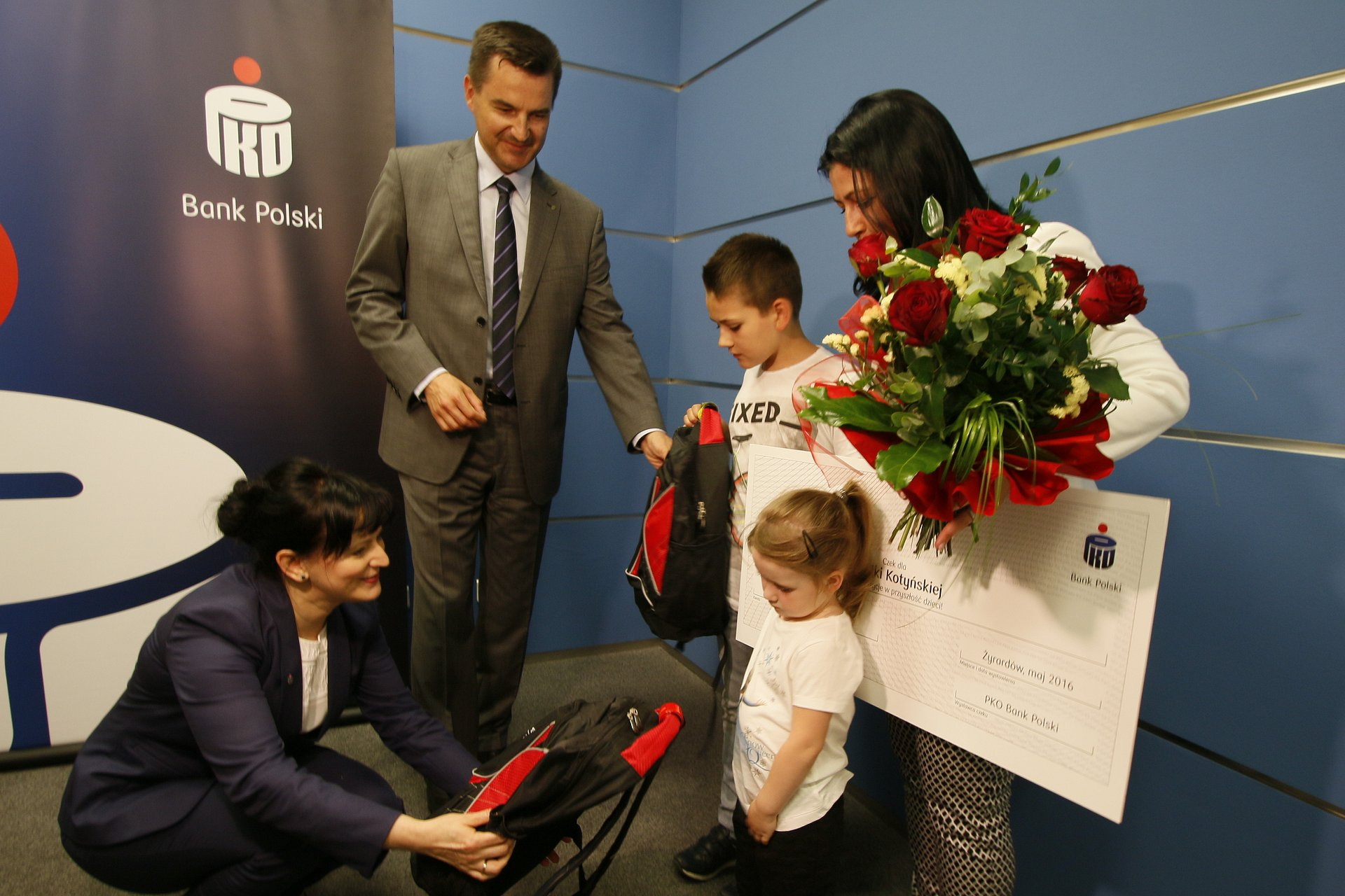 Wyróżnienie dla 150 tysięcznego wnioskodawcy w programie Rodzina 500 plus w PKO Banku Polskim