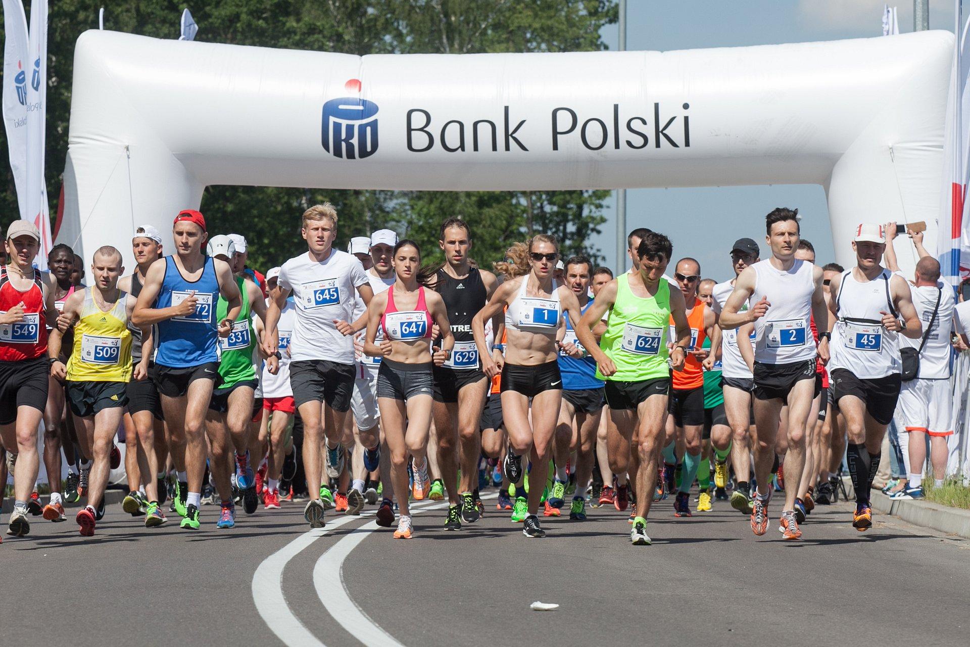 Ponad pół tysiąca zawodników na mecie 4. PKO Półmaratonu Solidarności