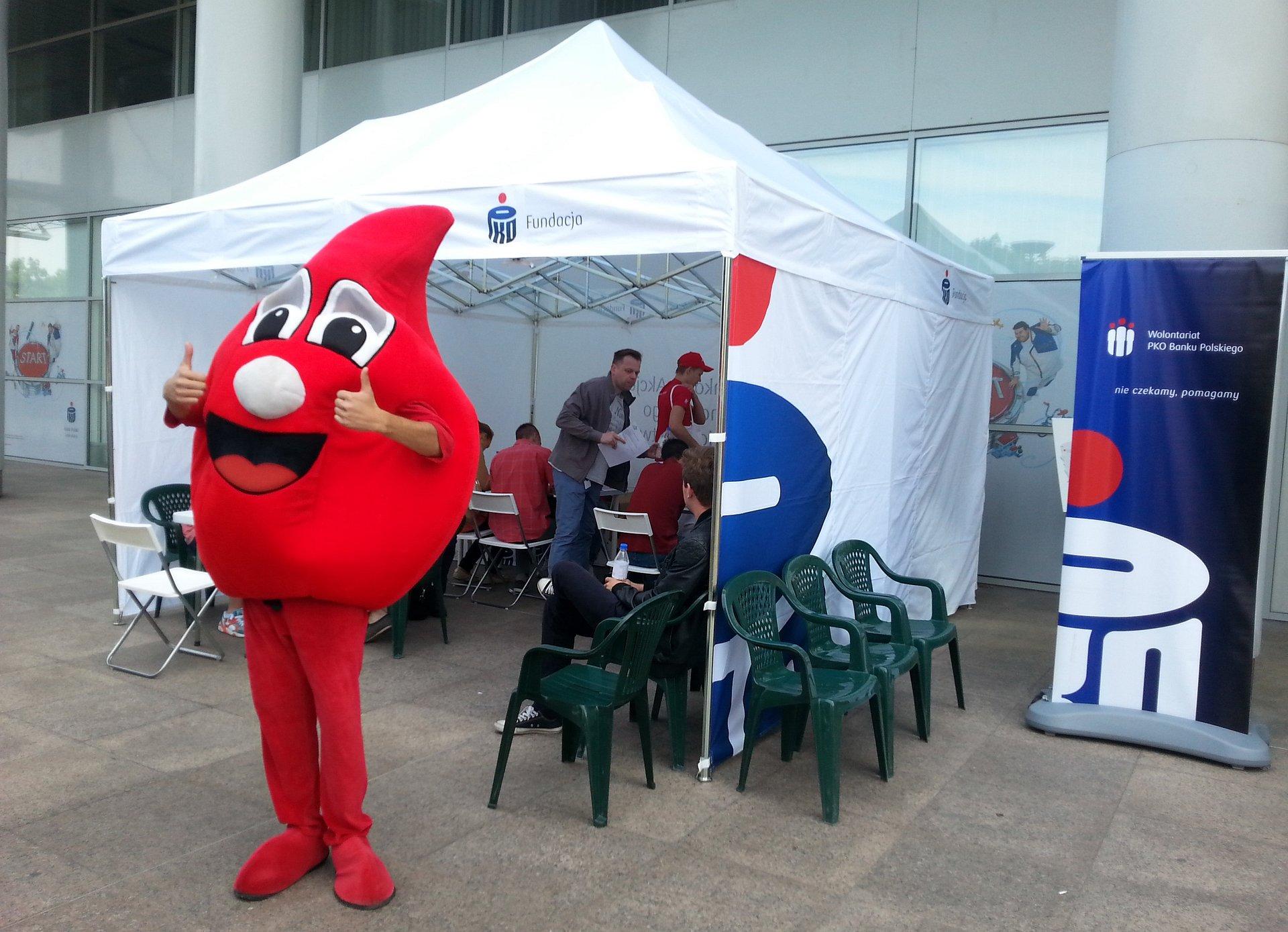 W tegorocznej Bankowej Akcji Honorowego Krwiodawstwa zebraliśmy już 440 litrów krwi!